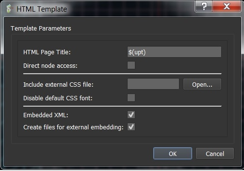 This is the Template Tool Box Setting